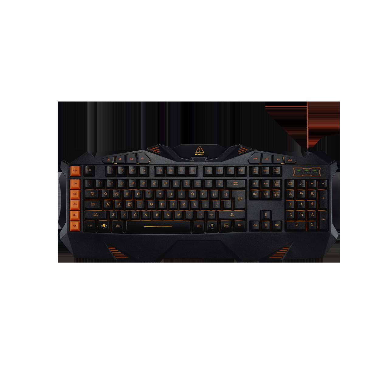 Canyon Gaming Keyboard with Macro Function