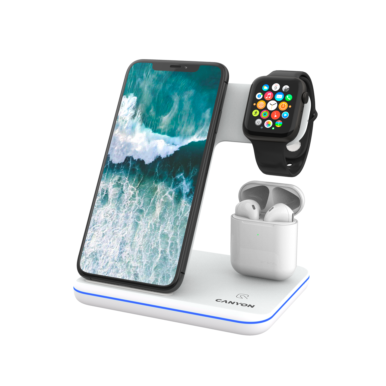 Canyon 3-in-1 Wireless charging
